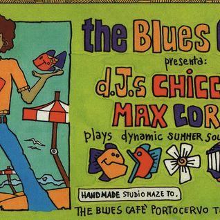 back to back  Chicca DeNozza / Max Correnti at Blues Cafè  Porto Cervo Sardinia Italy 1998