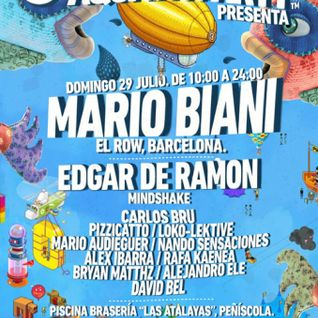 Bryan Matthz @ Aquaticparty (Peñiscola, Castellón) - 29.7.12