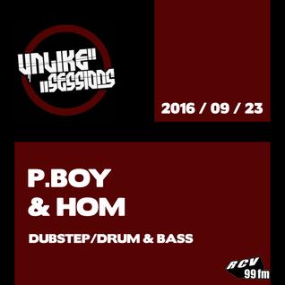 Unlike Sessions - 2016 sept 23 - P.Boy / Hom