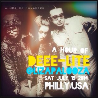 a hour of DEEE-LITE @ LIZAPALOOZA [SAT JULY 19, 2014 • PHILLY/USA]