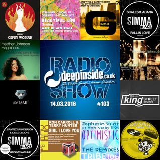 DEEPINSIDE RADIO SHOW 103 (Heather Johnson Artist of the week)