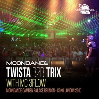 Twista & Trix with 3Flow - Moondance Camden Palace Reunion 2015