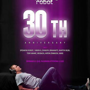 Speaking Robot 30-th BD Anniversary Airborn Project Special Mix (09.06.2012, Club Ibiza, Estonia)