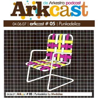 ARKcast # 05   Punkadelica by Mwëslee