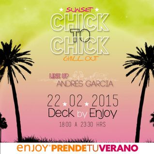 ANDRÉS GARCÍA SUNSET DECK BY ENJOY COQUIMBO (summer 2015 La Serena)