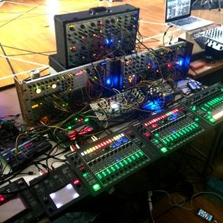 Hataken - 2 hours modular synthesizer live @ ZEN ZEN , Pyramid meditation center .05052015