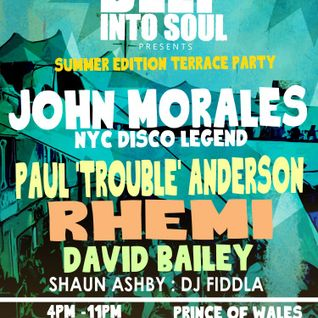Deep into Soul Summer Edition Promo Mix by Shaun Ashby July 2015