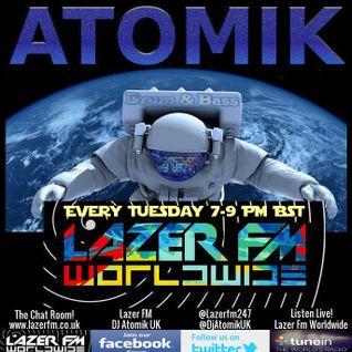 DJ Atomik Drum & Bass Radio-Active Show On Lazer FM Worldwide!