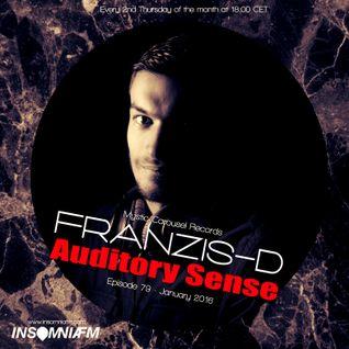 Franzis-D - Auditory Sense 079 @ InsomniaFm - Jan 14, 2016
