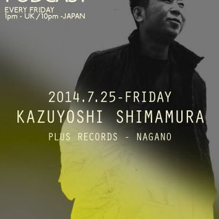 012: Kazuyoshi Shimamura - PLUS RECORDS PODCAST [September 26, 2014]