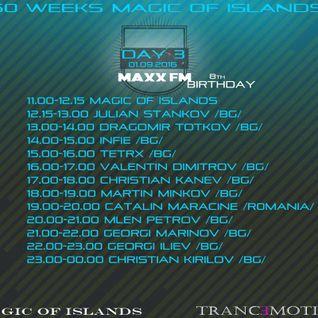 Christian Kirilov - Maxx FM's 8th Birthday Party & 50 Weeks of Magic Islands Guest Mix