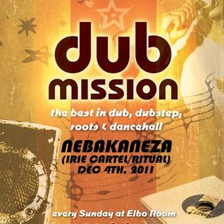 Nebakaneza Live Ragga Dubstep Mix At Dub Mission (Dubstep Mix #12 - Softer Sounds)