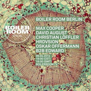 David August – Boiler Room Berlin Live Set