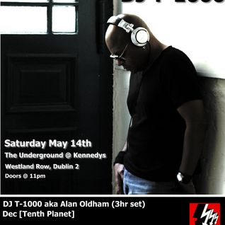 Dec @ DJT1000 TenthPlanetMusic in The Underground May 14th 2011
