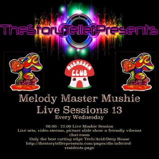 melody master mushie session 13