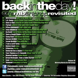 BackInTheDay! 90's Anthems Volume 20