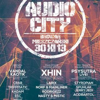 Larix - Audio City 2013 @ Wroclav Poland