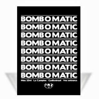 Paul Chambers @ Bomb O Matic - La Campine Cadixstraat - 23.05.2008