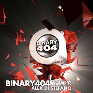 015 - Alex Di Stefano - Binary404 radio show presented by Alex Di Stefano