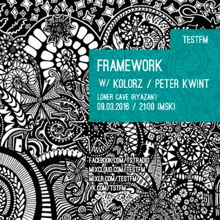 Framework w/ Peter Kwint – 09/03/2016