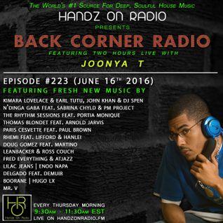 BACK CORNER RADIO: Episode #223 (June 16th 2016)