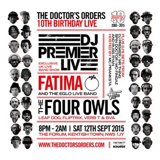 DJ Premier 12 x 12s Mixed by @SpinDoctorUK