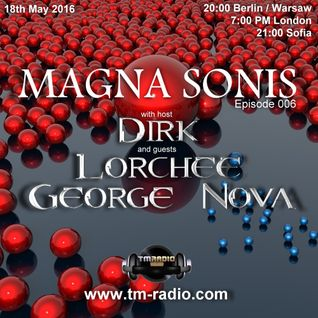 Dirk - Host Mix - MAGNA SONIS 006 (18th May 2016) on TM-Radio