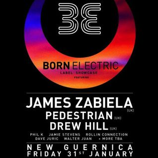 Jamie Stevens DJ Set @ Born Electric (After James Zabiela)