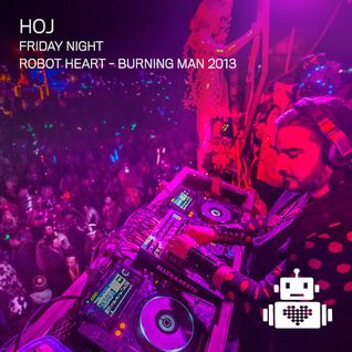 Hoj - Robot Heart - Burning Man 2013