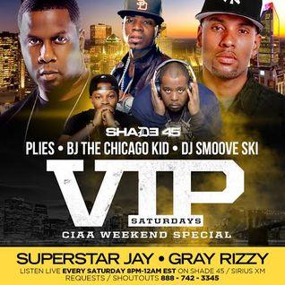 LIVE VIP SATURDAYS SHADE45