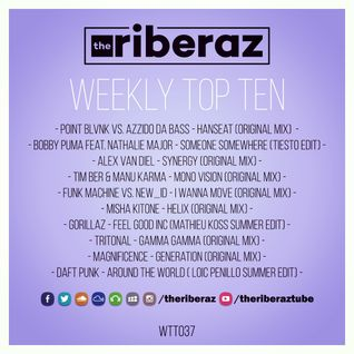The Riberaz Weekly Top Ten 037