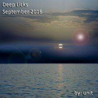 Deep Licks September 2016