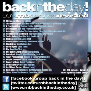 BackInTheDay! 90's Anthems Volume 1