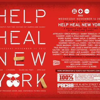 Danny Tenaglia - Live @ Pacha, Help Heal New York - 14.11.2012