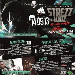 "Bang Bang Servo @ We Like It Hard Meetz Strezzkidz ""We Make Strezz"" - Panoptikum Kassel - 14.09.2013"