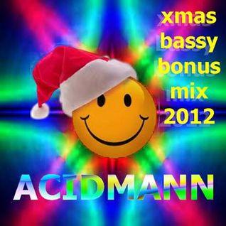 XMAS BASSY BONUS MIX 2012 mixed by ACIDMANN