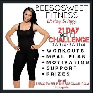 21 Day Get Fit Challenge Mix #BeeSoSweet