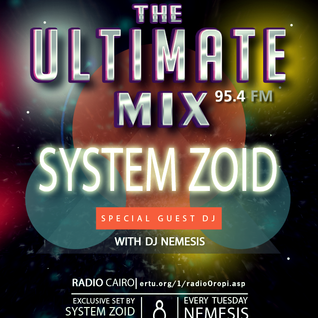 Nemesis - The Ultimate Mix Radio Show (033) 08/09/2015 (Guest System Zoid)