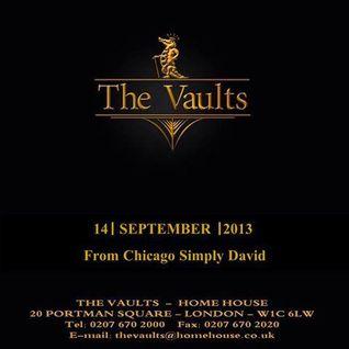 Simply David @ The Vaults - London 09.14.2013