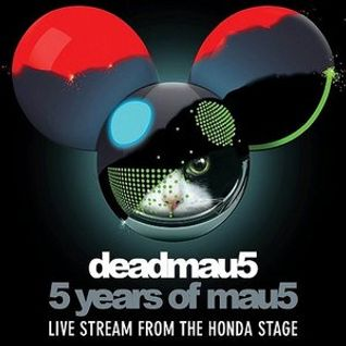 Deadmau5 - 5 years of mau5, Honda Stage, Knockdown Center, New York, USA 2014-11-11