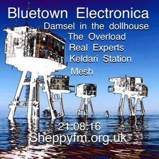 Bluetown Electronica live show 21.08.16