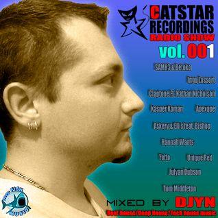 CATSTAR RECORDINGS RADIO SHOW # 001