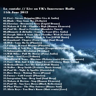 Lo_contakt // Live on UK's Innersence Radio 11/06/2012
