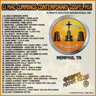 DJ Mac Cummings Contemporary Gospel Mix Volume 6