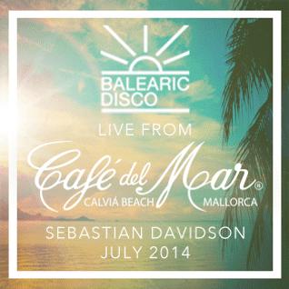 Live from Café del Mar // Sebastian Davidson // july 28 2014