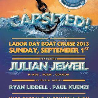 PAUL KUENZI & RYAN LIDDELL LIVE FROM CAPSIZED ABOARD THE MISS BUFFALO 9.1.13
