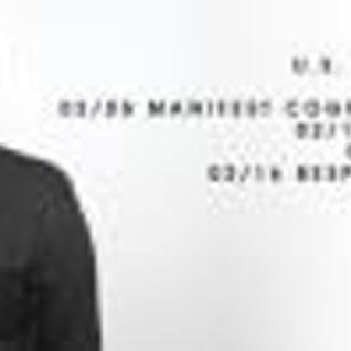 JC Carmona Live @ Manifest Cognition 02/09/13