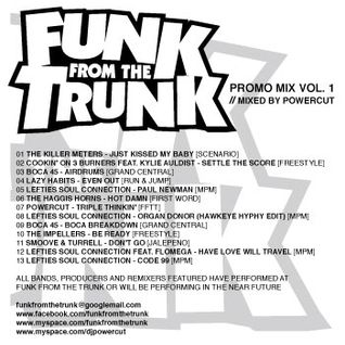 Funk From The Trunk Promo Mix Vol. 1