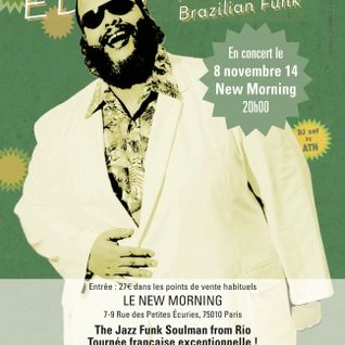 ED MOTTA special AOR warmup+aftershow set by ATN @ New Morning (08-11-14)