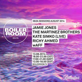 Jamie Jones & The Martinez Brothers - Live At Boiler Room (Ibiza) - 13-08-2014 [Sh4R3 OR Di3]